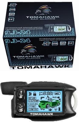 Автосигнализация с автозапуском Tomahawk 9.3. 24V - фото 7